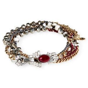 Chloe + Isabel Cafe Society Multi-Wrap Bracelet